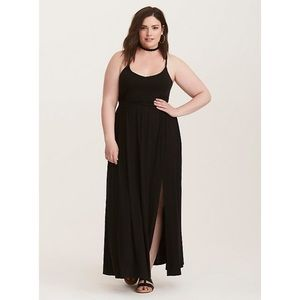 Torrid Jersey Braided Maxi Dress